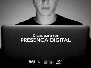 Dicas para ter presença digital