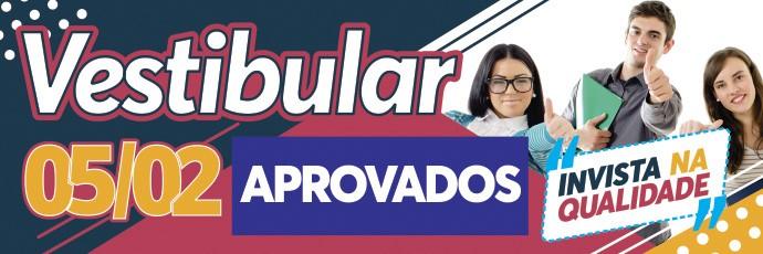 Banner Vestibular Faccat 2019/1 Fevereiro -  Aprovados