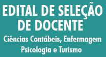 Edital de Seleção de Docente nº 1/2016