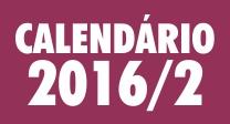 Calendário Acadêmico 2016/2