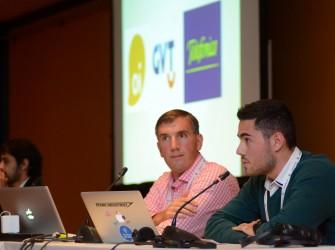 Foto da palestra em Buenos Aires