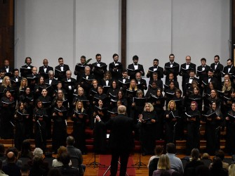 Foto do coro sinfônico