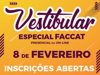Vestibular Especial Faccat
