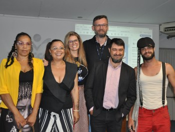 Professores da Faccat e palestrantes