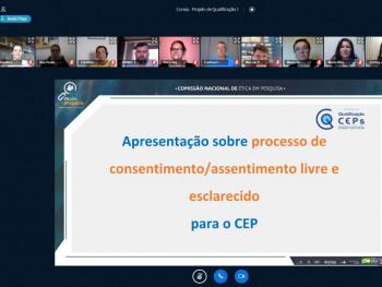 Reunião virtual do Conep