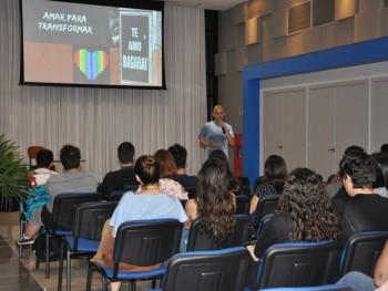 Palestras na primeira noite da Semana Acadêmica