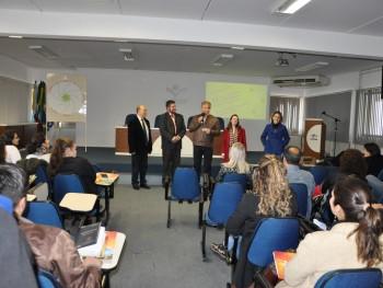 Foto da abertura do evento