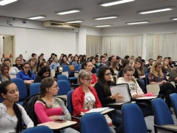 Foto do público