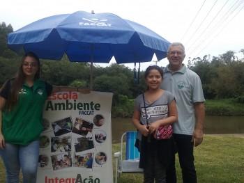 Escola Ambiente participando do Celebrando a Água