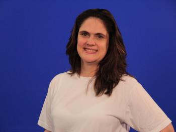 Coordenadora dos cursos de TI, Flávia Carvalho
