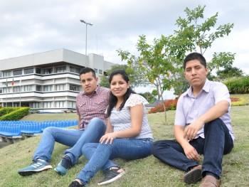 Cristopher, Rosa e Jorge