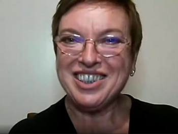 coordenadora institucional do Pibid, Maria de Fátima Reszka
