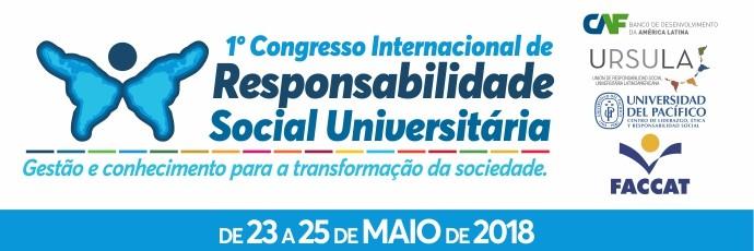 1º Congresso Internacional de Responsabilidade Social Universitária