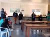 Professores conversando com a gurizada da Lar Padilha